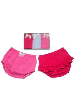 kit 3 pecas pink br ro